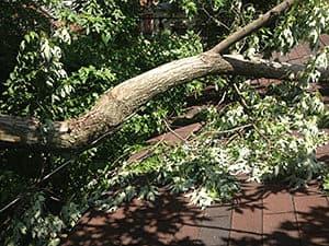 Storm Amp Hail Damage Repair In St Charles Schneider Roofing