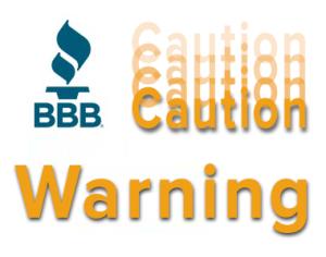 BBB warning