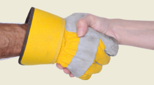 handshake tan