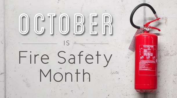 October Is Fire Protection Month Schneider Roofing